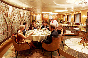 Allure of the Seas Cruise Ship 150 Central Park Restaurant