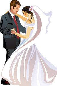 Bride-Groom-Cruise-Cartoon