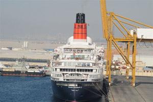 Cunard's QE2