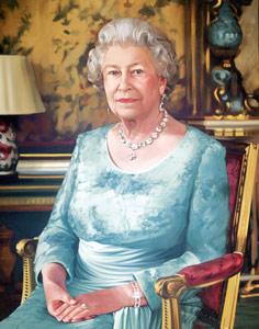 Cunard Queen Elizabeth Painting