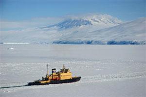 Kapitan Khlebnikov in Antarctica