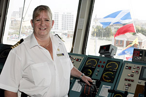 P&O Cruises Captain Sarah Breton