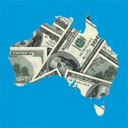 Australia with American Money