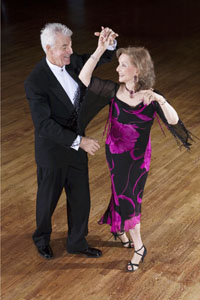 Senior Couple Ballroom Dance