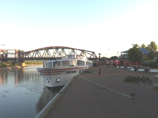 britannia river boat