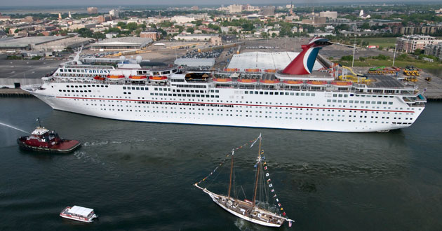 Man Falls To His Death On Carnival Fantasy  Carnival Cruise Lines