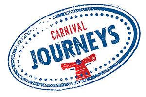 the logo for carnival cruise line's new program carnival journeys
