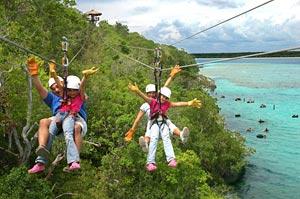 costa maya zipline