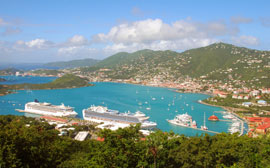Cruise Ships in St. Thomas