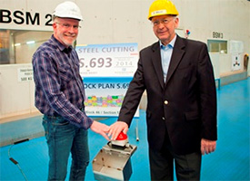 Norwegian Escape Steel Cutting