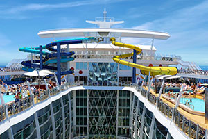 Royal Caribbeans Next OasisClass Cruise Ship To Feature - The oasis cruise ship