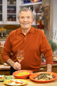 Jacques Pepin, host the public television series 'Jacques Pepin: More Fast Food My Way'