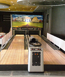 MSC Splendida Bowling Alley