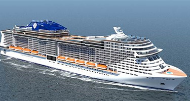 Rendering of MSC's New Ship