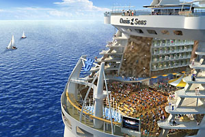 Will Carnival Build Cruise Ships Bigger Than Oasis Of The Seas - Building a cruise ship