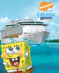 Nickelodeon Slimes Royal Caribbean Family Cruisers Royal - Nickelodeon cruise ships