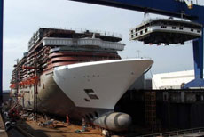 Norwegian Epic at Shipyard