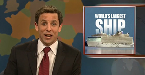 Oasis of the Seas on Saturday Night Live