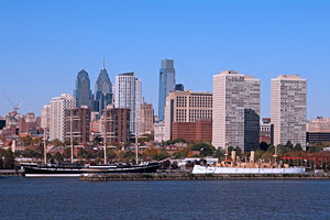Philadelphia-Pennsylvania-waterfront