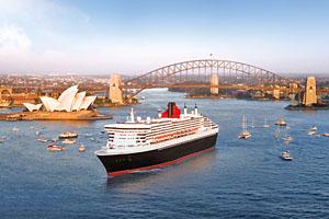 Cunard Queen Mary 2 Cruise Ship Sydney Australia