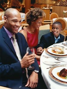 Royal Caribbean Family Dining