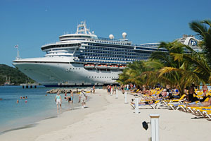 Crown Princess Mahogany Bay Roatan