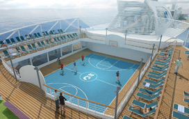 New Princess Cruise Ship to Feature Batting Cage, Laser