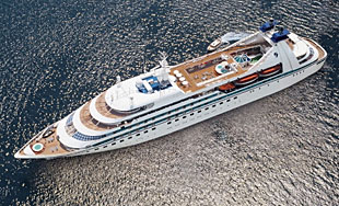 Seabourn Spirit luxury ship