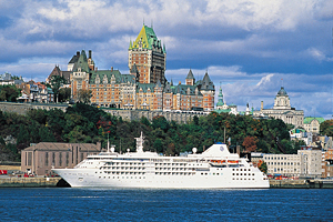 Silver-Cloud-Cruise-Ship-Quebec-City-Canada