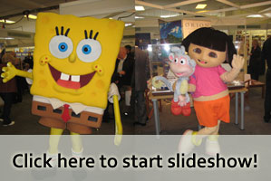SpongeBob, Dora at Cruise Show