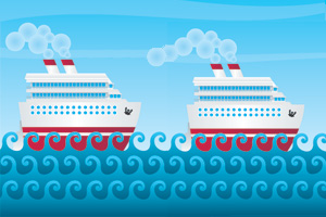 Two new cruise ships