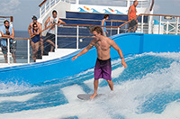 We Try It: Surfing on a Cruise Ship