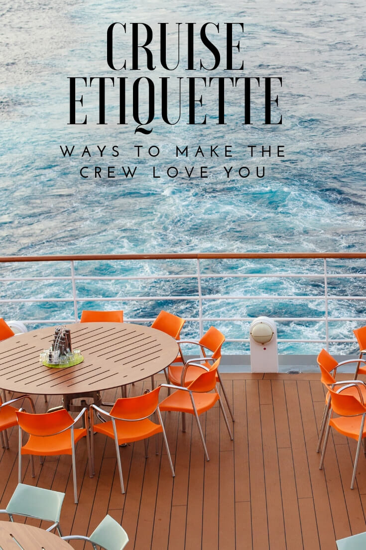 How Not to Be Rude on a Cruise