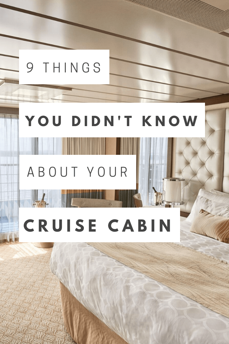 9 Things You Don't Know About Your Cruise Ship Cabin