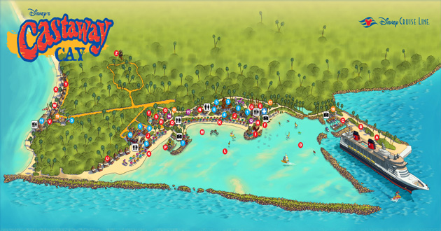 Castaway Cay Cruise Port Guide Terminal Information For