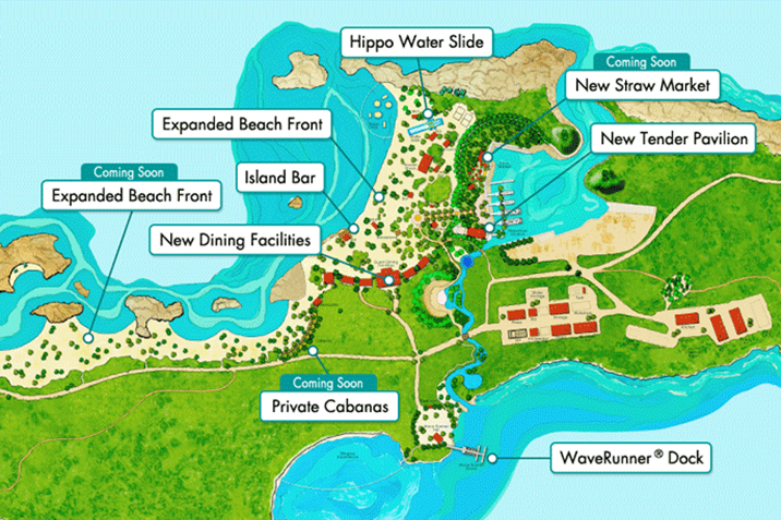 Great Stirrup Cay Cruise Port Terminal Things to Do in Port of – Tourist Map Of Nassau Bahamas