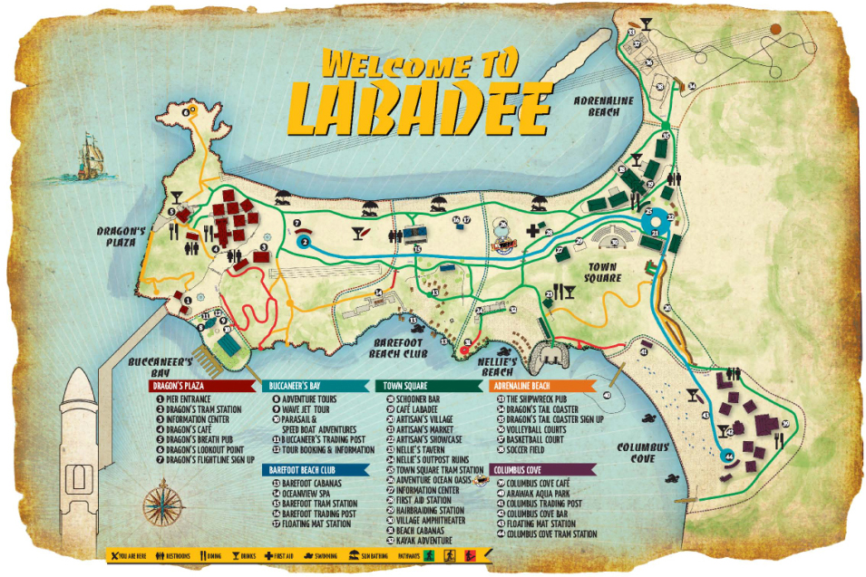 labadee cruise port terminal information for port of