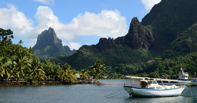 Moorea Cruise Port