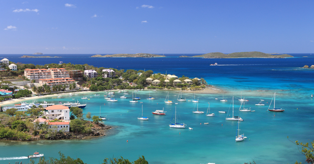 St. John (U.S.V.I.) Cruise Port