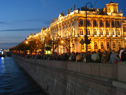 The Hermitage at Night