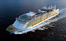 Allure of the Seas Deck Plans