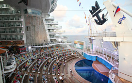 Oasis of the Seas Deck Plans