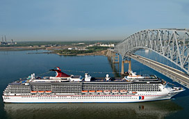 Bad Weather Delays Carnival Cruise Ship S Arrival Into