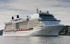 Celebrity Silhouette at sea