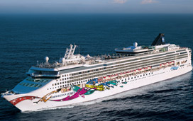 Norwegian Cruise Line's Norwegian Jewel cruise ship