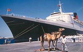 QE Cruise Ship Sold To Singapore To Become Floating Hotel - Qe2 cruise ship