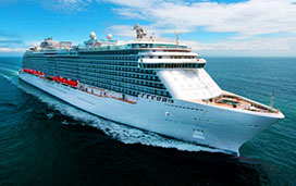Princess Cruises' Royal Princess Cruise Ship