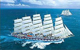 Royal Clipper Deck Plans