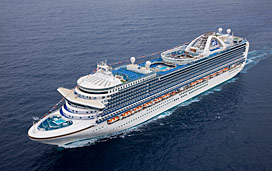 Ruby Princess Deck Plans