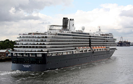 holland america westerdam fire seattle